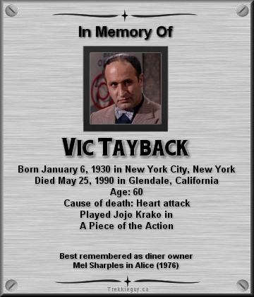 vic tayback bio