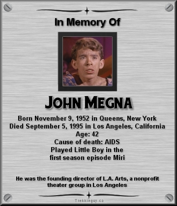 john megna obituary