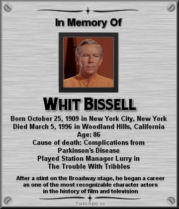 whit bissell actor